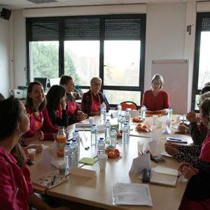 Les Blouses Roses de Limoges en formation initiale - Cécile de Laubier